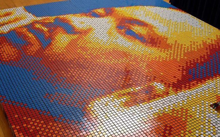 Thinking Outside the Rubik's Cube – Art Phenom Pixel Pete