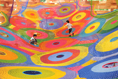 Accidental Crocheted Playground – A Delightful Yarn!