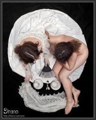Halloween Skull Art #11 – Boudoir