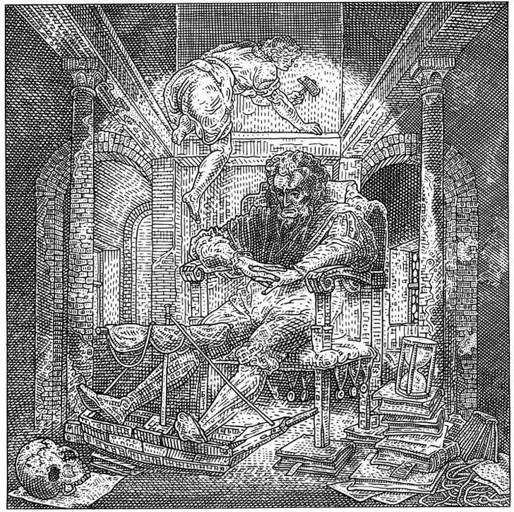 Orosz – Halloween Skull Art #25