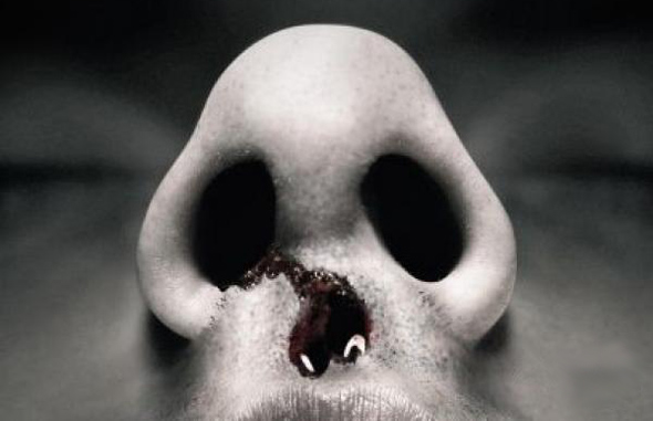 Halloween Skull Art #4 – Bloody Nose