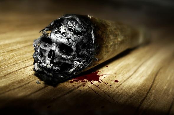 Halloween Skull Art #8 – Ash