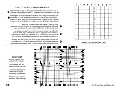 Small Grid, Slant Art, DIY Instructions