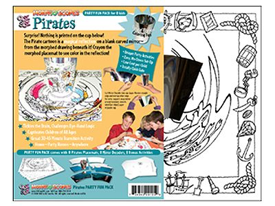 Pirates Party Fun Pack package