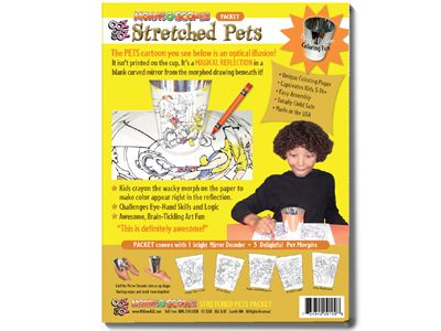 Stretched Pets Packet package