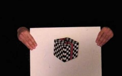 Floating Cube & Hollow Heads – Outside-In Optical Illusions