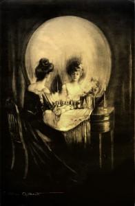 "Halloween Skull Art #3 – ""All is Vanity"""