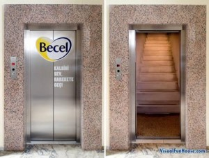 Elevator Doors That'll Give You a Lift!