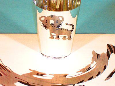 Hinton Elememtary School tiger mascot