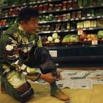 Liu getting ready